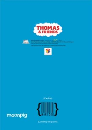 Thomas And Friends Son Photo Upload Birthday Card