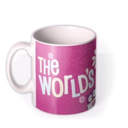 Mugs - Mother's Day World's 1 Mum Personalised Mug - Image 1