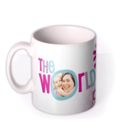 Mugs - Mother's Day World's 1 Mum Photo Upload Mug - Image 1