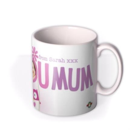 Mugs - Mother's Day Love You Mum Photo Upload Mug - Image 2