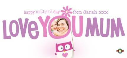 Mugs - Mother's Day Love You Mum Photo Upload Mug - Image 4
