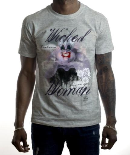 T-Shirts - Disney Villain Ursula Personalised T-shirt - Image 2