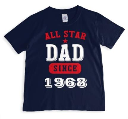 T-Shirts - Father's Day All Star Personalised T-shirt - Image 1