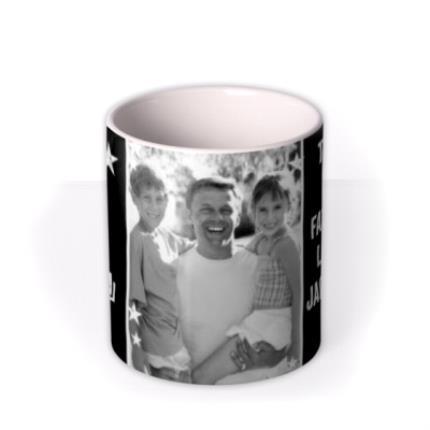 Mugs - Father's Day A-Star Dad Photo Upload Mug - Image 3