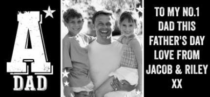 Mugs - Father's Day A-Star Dad Photo Upload Mug - Image 4