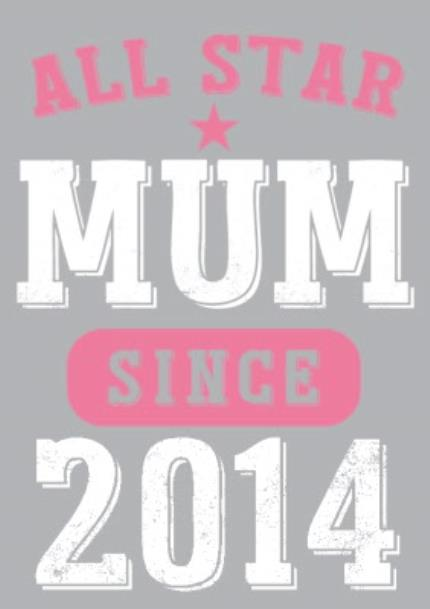 T-Shirts - Mother's Day All Star Mum Pink Personalised T-shirt - Image 4