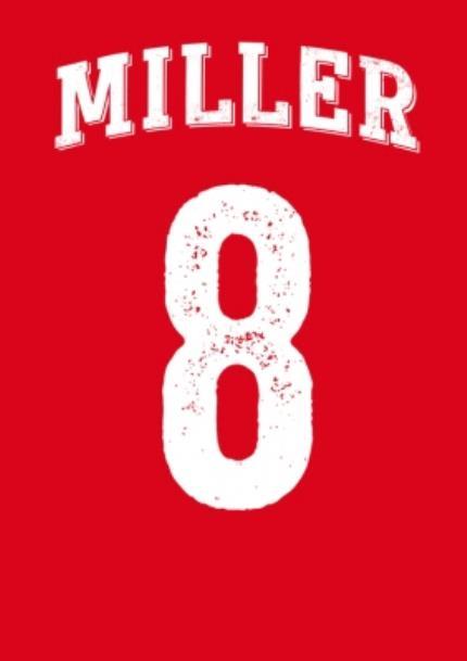 T-Shirts - Surname Football Shirt Personalised T-shirt - Image 5