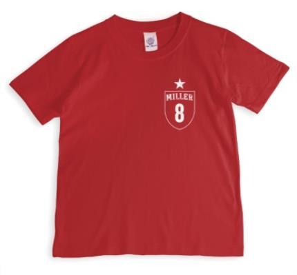 T-Shirts - Football Shirt Personalised T-shirt - Image 1