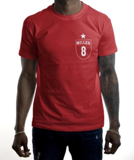 T-Shirts - Football Shirt Personalised T-shirt - Image 2