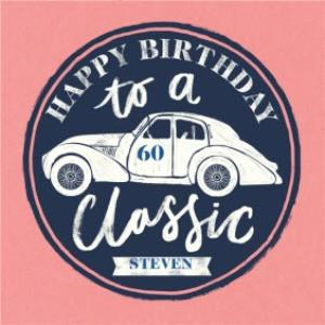 Greeting Cards - Birthday card - classic car - Image 1
