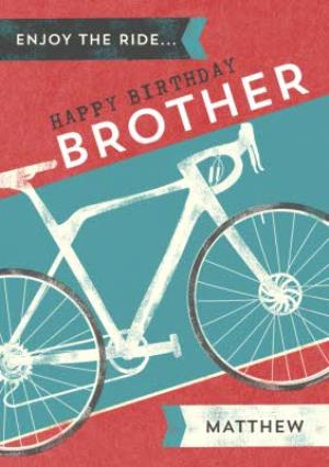 Greeting Cards - Bicycle Birthday Card - Image 1