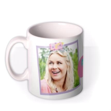Mugs - Colourful Picture Frame Photo Upload Mug - Image 1