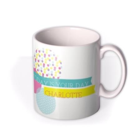 Mugs - Colourful Picture Frame Photo Upload Mug - Image 2