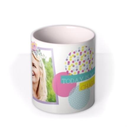Mugs - Colourful Picture Frame Photo Upload Mug - Image 3
