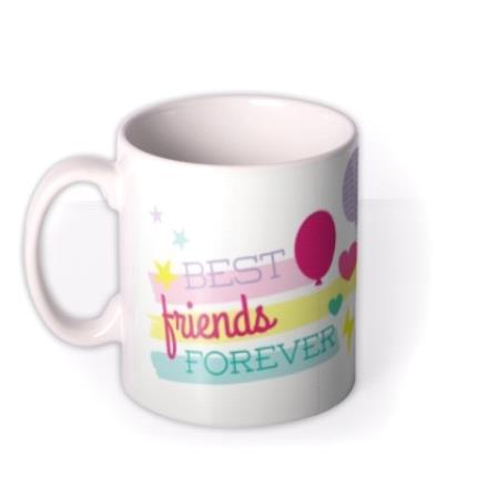Mugs - Best Friends Forever Photo Upload Mug - Image 1