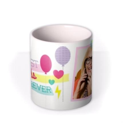 Mugs - Best Friends Forever Photo Upload Mug - Image 3