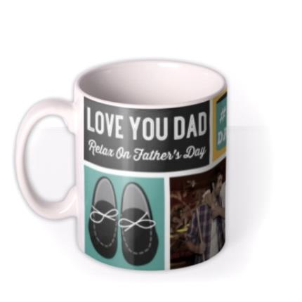 Mugs - Father's Day #1 Dad Photo Upload Mug - Image 1