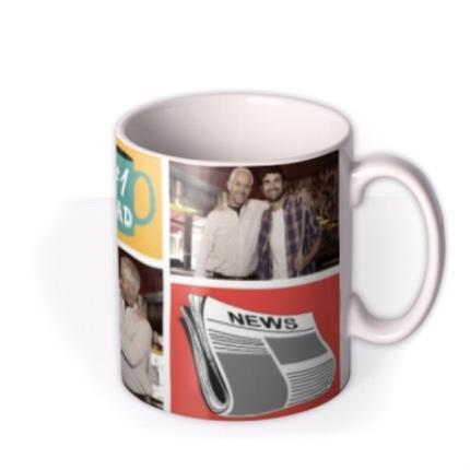 Mugs - Father's Day #1 Dad Photo Upload Mug - Image 2