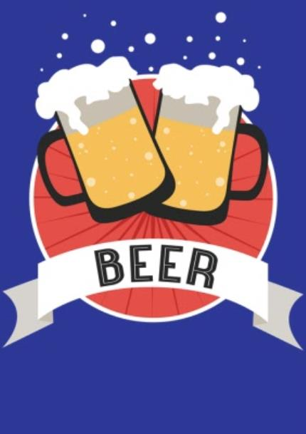 T-Shirts - Cheers To Beer Personalised Text T-Shirt - Image 4
