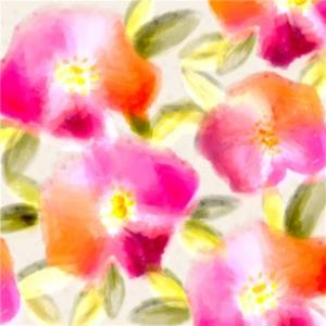 Greeting Cards - Birthday card - floral - art card - Image 1