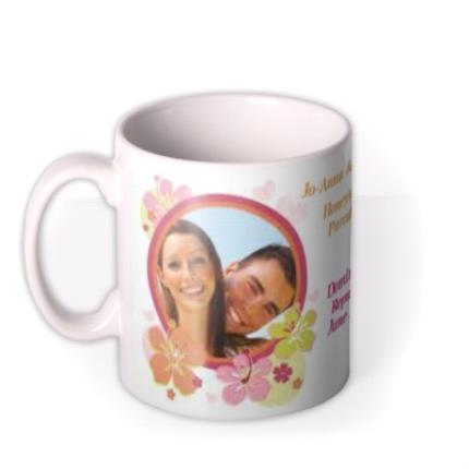 Mugs - Honeymoon Paradise Photo Upload Mug - Image 1