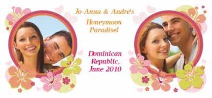 Mugs - Honeymoon Paradise Photo Upload Mug - Image 4