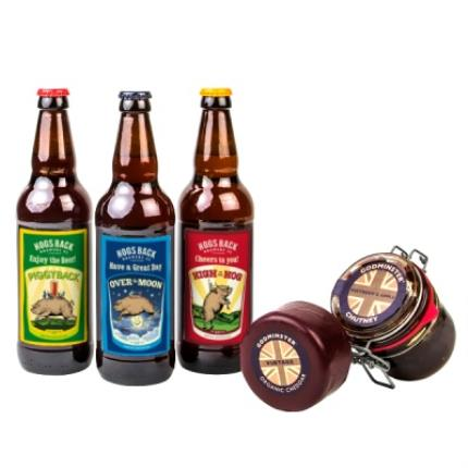 Alcohol Gifts - Exclusive Personalised Beer with Cheese & Chutney WAS £25 NOW £15 - Image 1