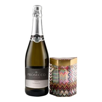 Alcohol Gifts - Personalised Prosecco With Accessorize Crackers - WAS £26 NOW £20 - Image 1