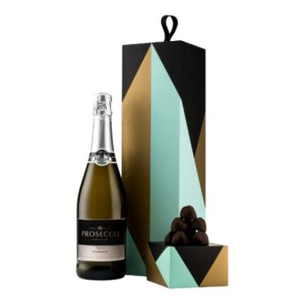 Alcohol Gifts - Exclusive Personalised Prosecco Gift Set - Image 1