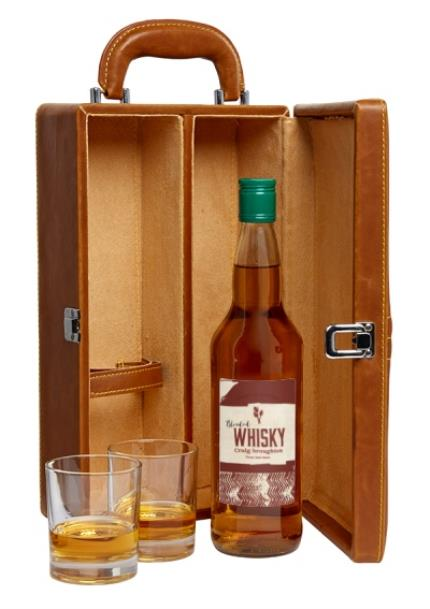 Alcohol Gifts - Personalised Whisky Gift Set  - Image 1