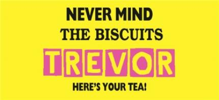 Mugs - Nevermind the Biscuits Photo Upload Mug - Image 4