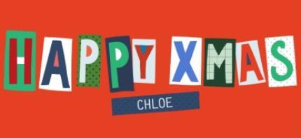 Mugs - Big Bright Letters Happy Xmas Custom Name Mug - Image 4