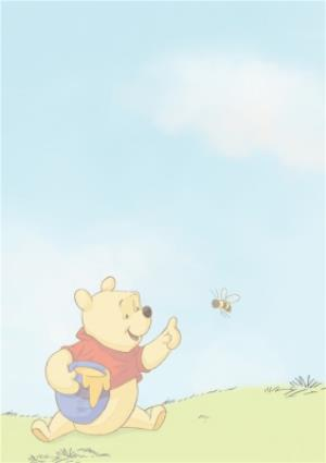 Greeting Cards - 1 Today - 1st Birthday Card - Winnie The Pooh Kids Card - Image 2