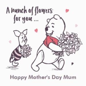 Greeting Cards - Mother's Day Card - Mum - Winnie the Pooh - Image 1