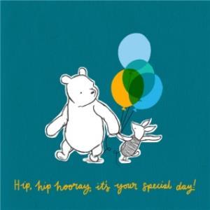 Greeting Cards - Birthday card - Disney - Winnie the Pooh - cute card - Image 1