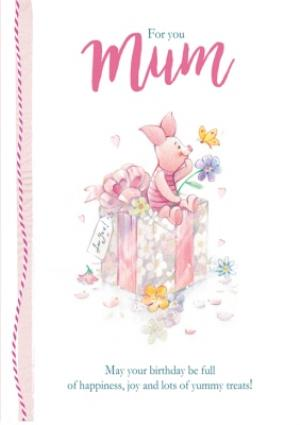 Greeting Cards - Birthday card for Mum - Winnie the Pooh - Piglet - Image 1