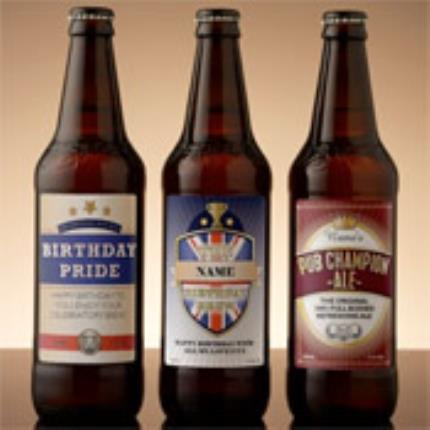 Alcohol Gifts - Personalised Black Sheep Beer Selection - Image 1