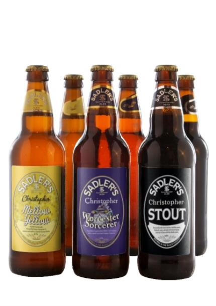 Alcohol Gifts - Personalised 6 Pack of Sadlers Ales - £5 OFF - Image 1