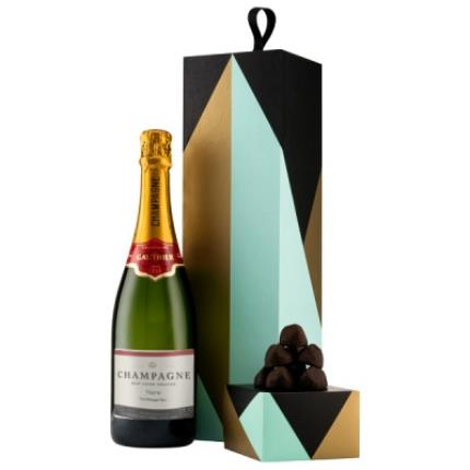 Alcohol Gifts - Exclusive Personalised Gauthier Champagne Gift Set  - Image 1