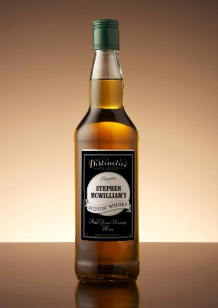 Alcohol Gifts - Personalised Single Malt Whisky - Image 1