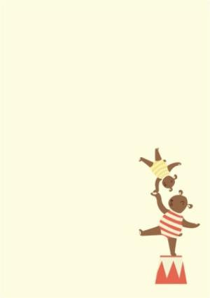 Greeting Cards - Balancing Circus Act New Baby Multi-Photo Card - Image 3