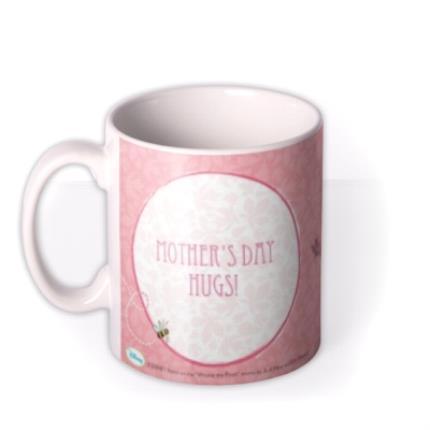 Mugs - Winnie the Pooh Hugs Personalised Mug - Image 1