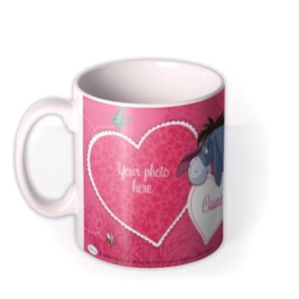 Mugs - Winnie the Pooh Eeyore Photo Upload Mug - Image 1
