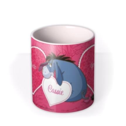 Mugs - Winnie the Pooh Eeyore Photo Upload Mug - Image 3
