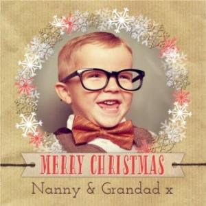 Greeting Cards - Merry Christmas Card For Grandparents - Image 1