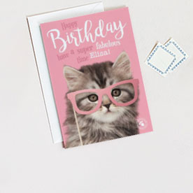 Animals Cards Football Birthday