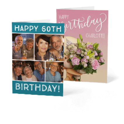 photograph relating to Free Printable Birthday Newspaper called Customized Birthday Playing cards Picture Add Birthday Playing cards