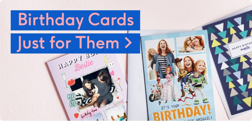 Personalised Birthday Cards