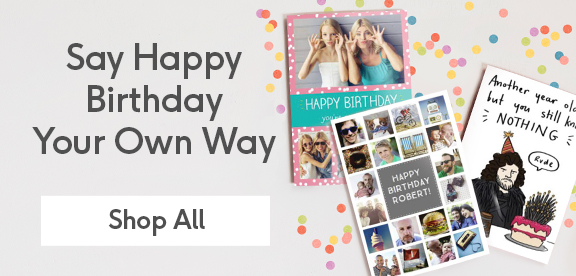 Personalised Birthday Cards For All