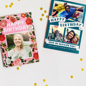 Perfect Cards For S Birthday Personalised Photo